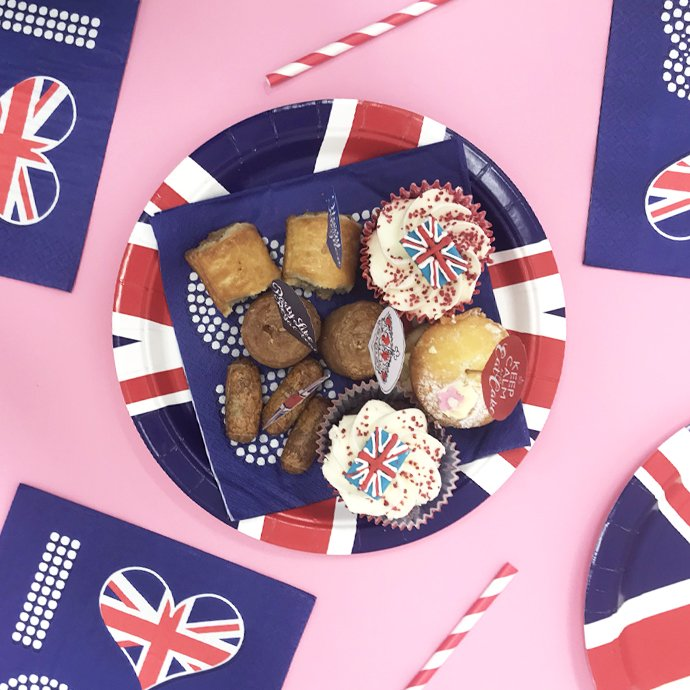 Royal Wedding Party Food Ideas