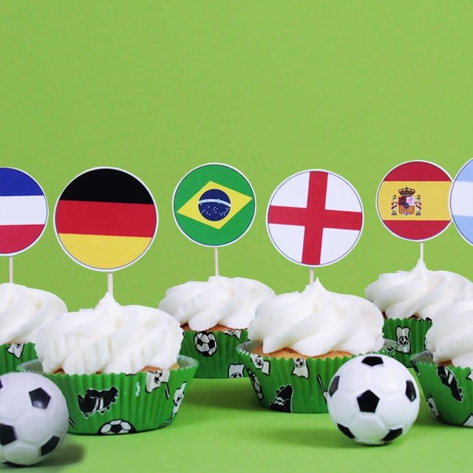 World Cup cakes