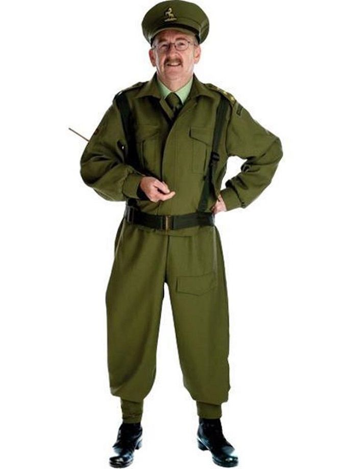 Captain Mainwaring fancy dress costume