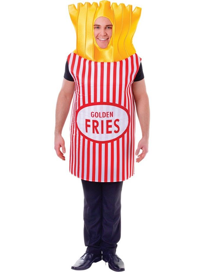 Chips fancy dress costume