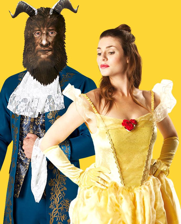 Beauty & The Beast fancy dress costume idea for couples