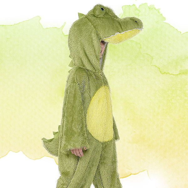 The Enormous Crocodile Roald Dahl kids' fancy dress costume.