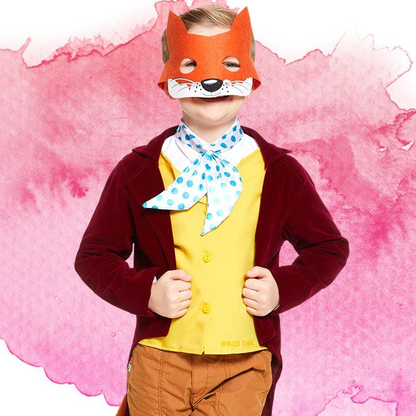 Fantastic Mr Fox kids' costume - Roald Dahl fancy dress