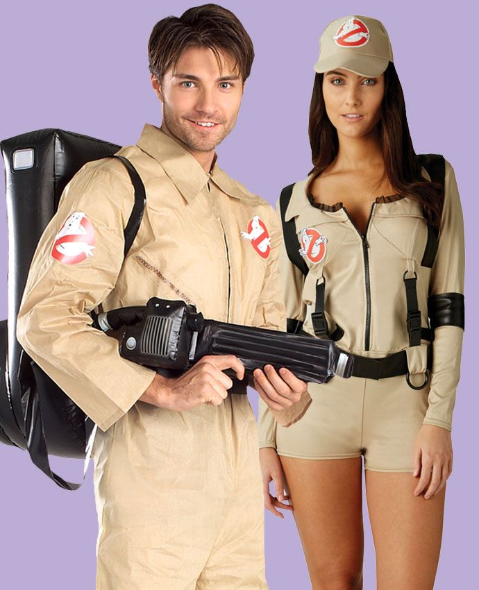 Ghostbusters fancy dress costume idea for couples
