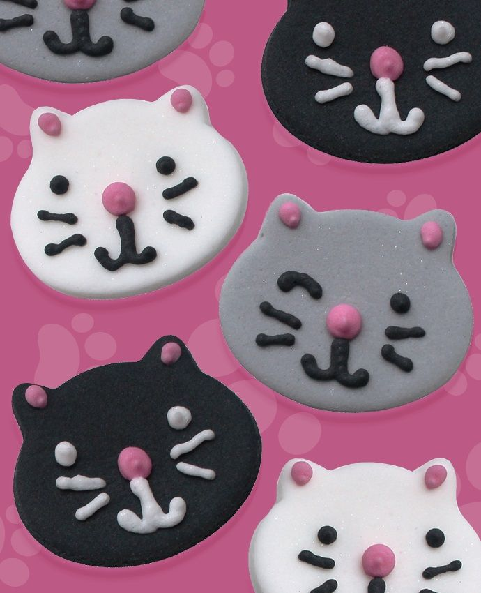 Cat cake toppers