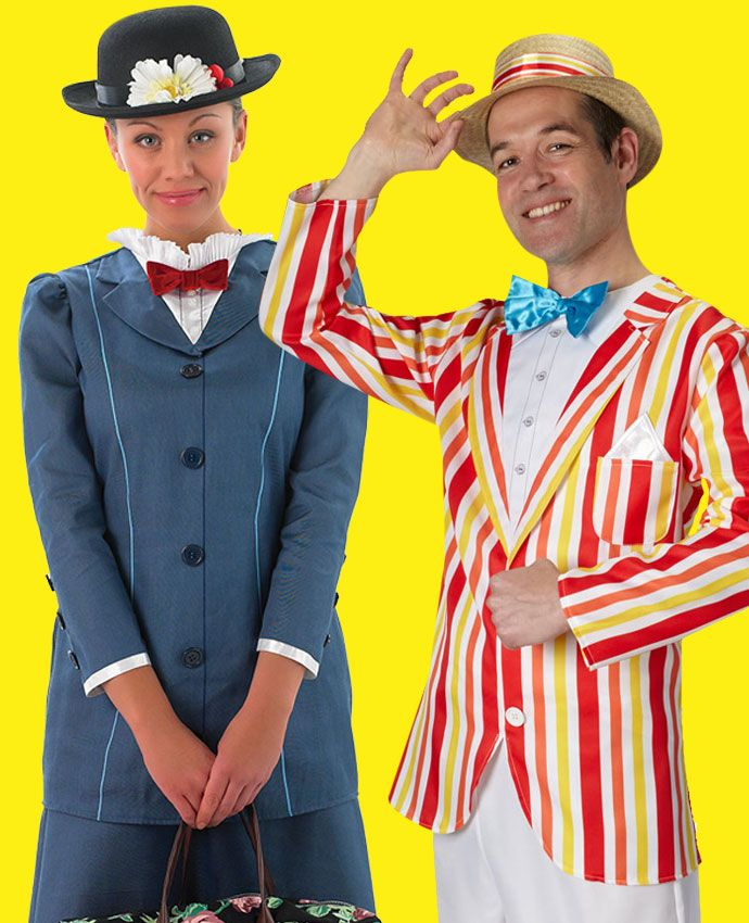 Mary Poppins & Bert fancy dress costume idea for couples