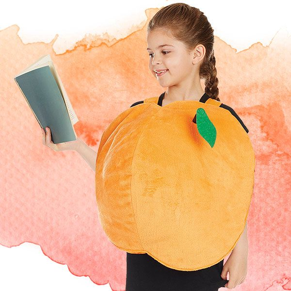 Peach costume from Roald Dahl's James and the Giant Peach.