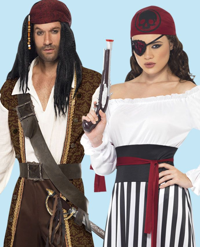 Pirates fancy dress costume idea for couples