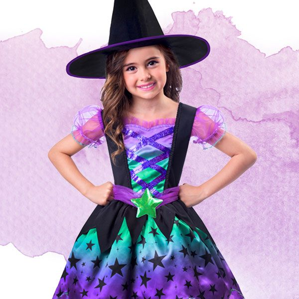 Dress as one of the witches from the Roald Dahl book!