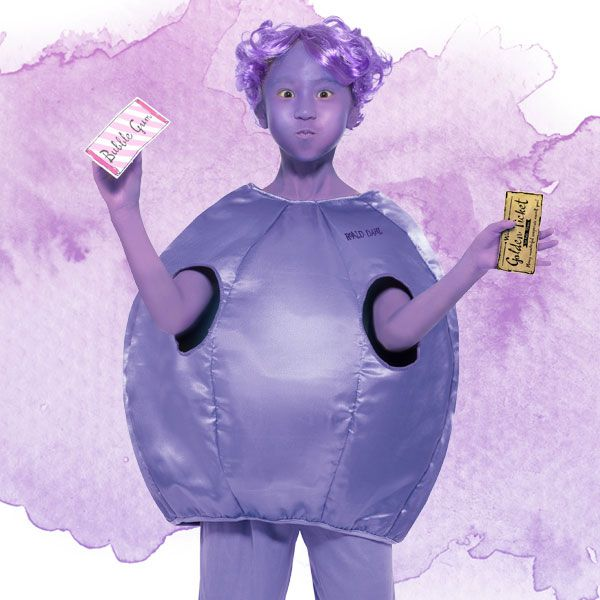 Violet Beauregarde kids' costume from Charlie and the Chocolate Factory - Roald Dahl fancy dress