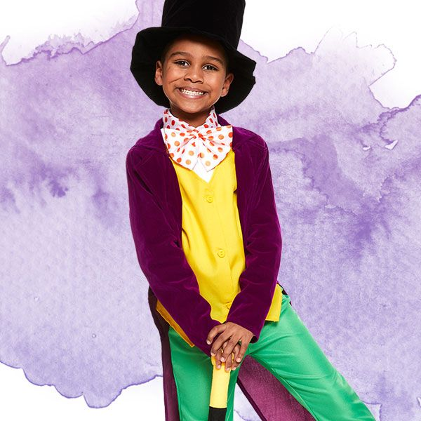 Boys' Willy Wonka costume - Roald Dahl fancy dress