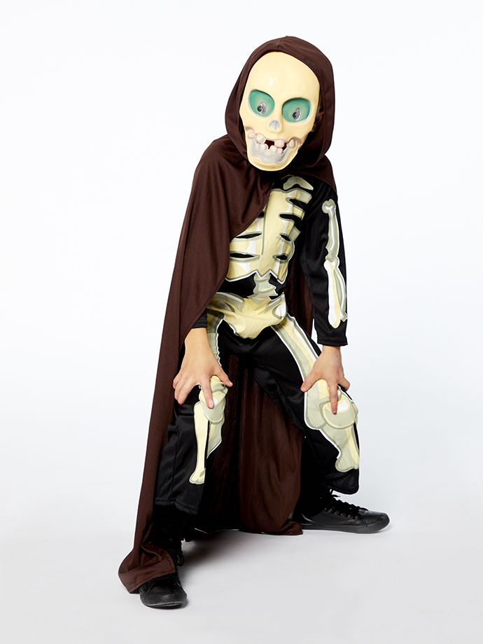 Grim Reaper Halloween outfit for kids