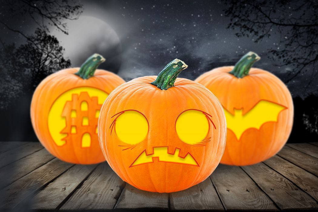 image about Printable Pumpkin Templates named 16 Totally free Printable Pumpkin Stencils towards Consider This Halloween
