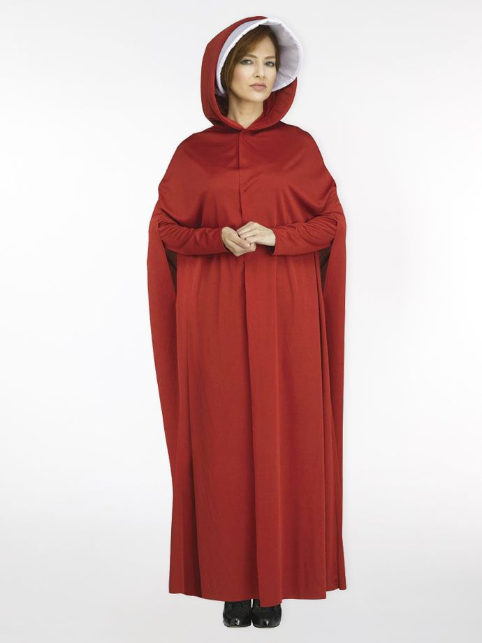 Red maiden women's Halloween costume