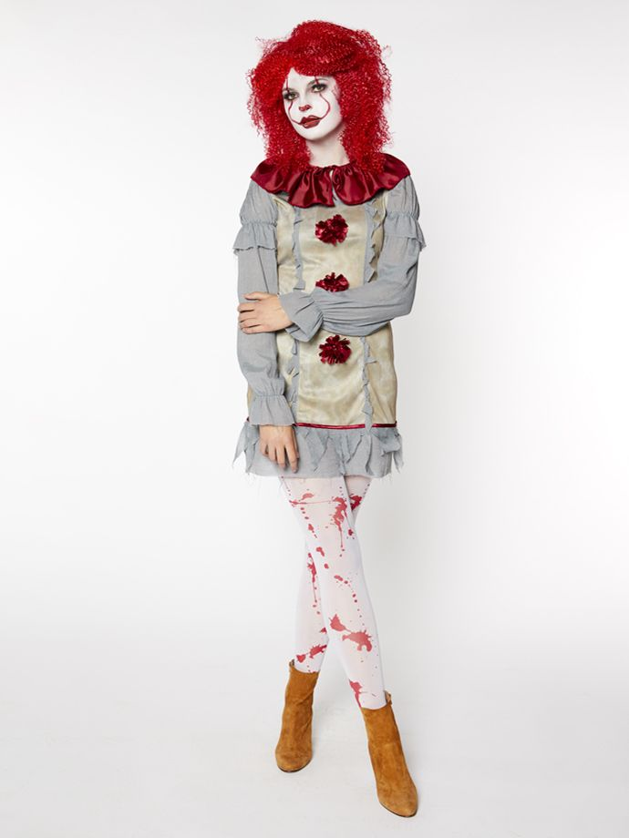 This dancing clown is ideal for any women's Halloween costume