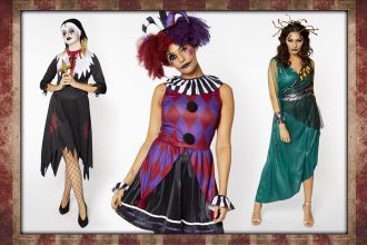 Our favourite women's Halloween fancy dress costumes