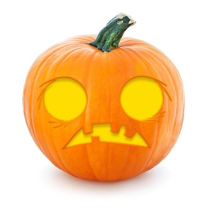 graphic relating to Printable Pumpkin Pictures titled 16 Absolutely free Printable Pumpkin Stencils toward Attempt This Halloween
