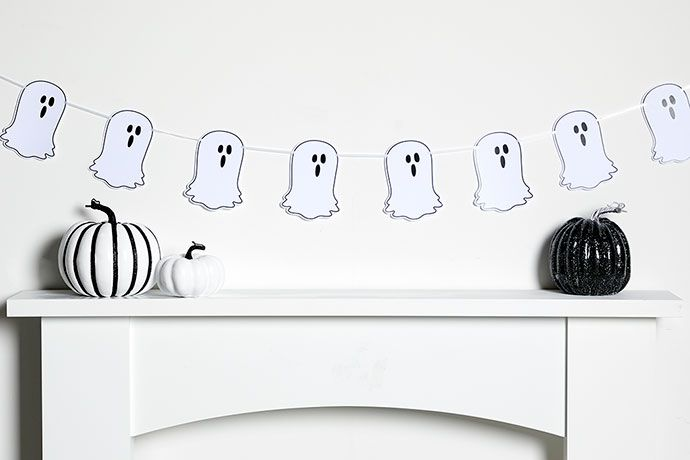 Ghouls and Ghosts printable Halloween bunting