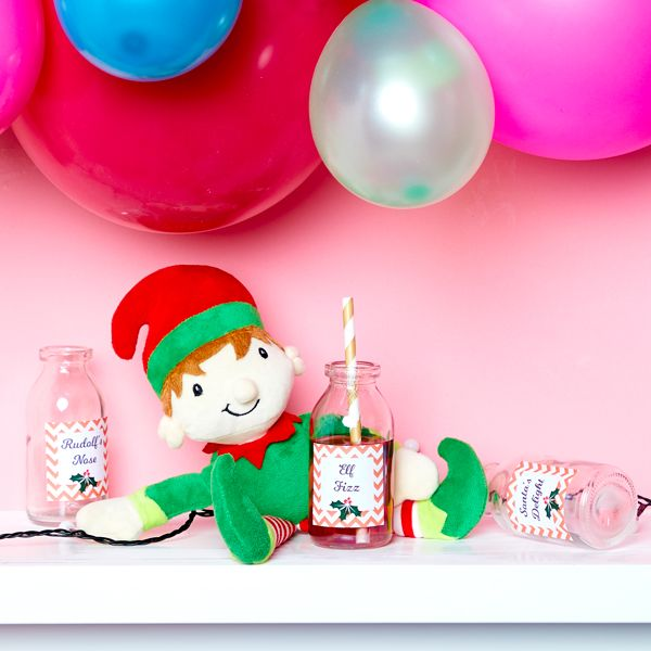 Elf on the Shelf idea - Drinking cocktails
