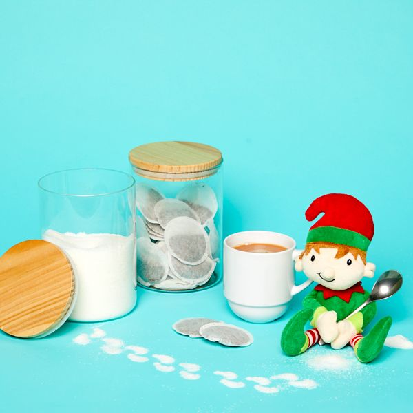 Elf on the Shelf idea - Making tea