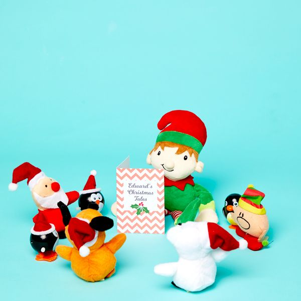 Elf on the Shelf idea - Reading a Christmas story