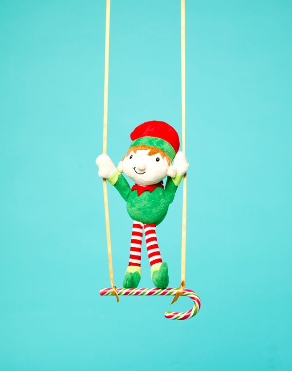Elf on the Shelf idea - Trapeze artist