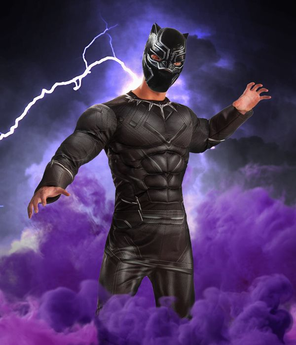 Black Panther fancy dress costume