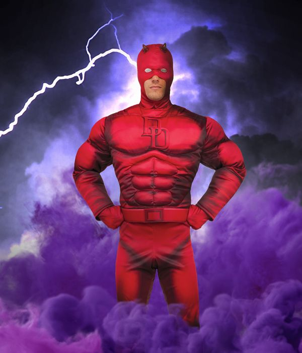 Daredevil fancy dress costume