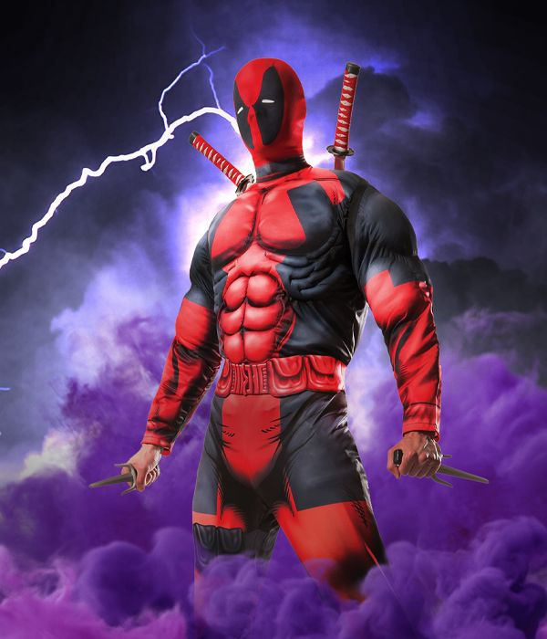 Deadpool fancy dress costume