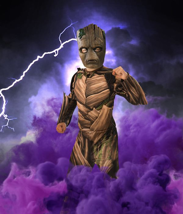 Groot Guardians of the Galaxy fancy dress costume