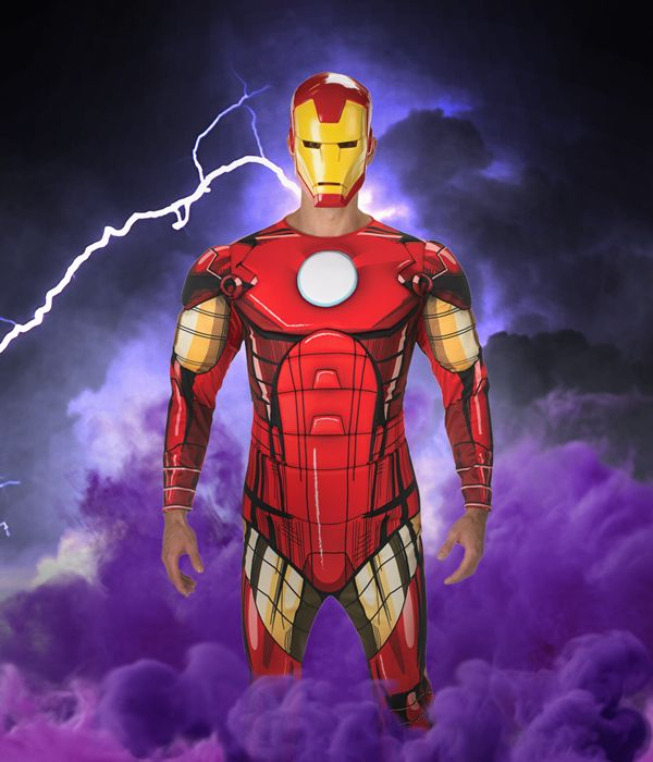 Iron Man fancy dress costume