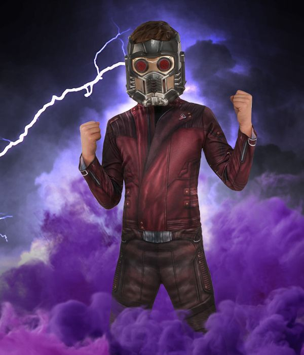 Star Lord Guardians of the Galaxy fancy dress costume
