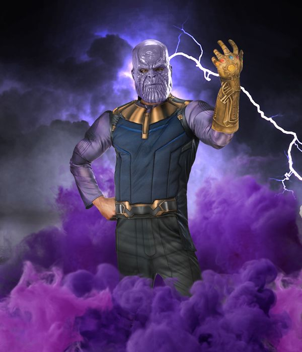Thanos fancy dress costume