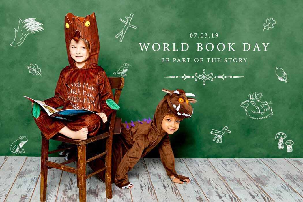 Julia Donaldson World Book Day fancy dress - The Gruffalo and Stick Man costumes