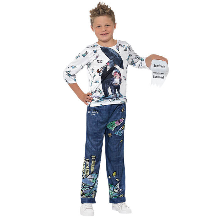 Billionaire Boy World Book Day fancy dress costume
