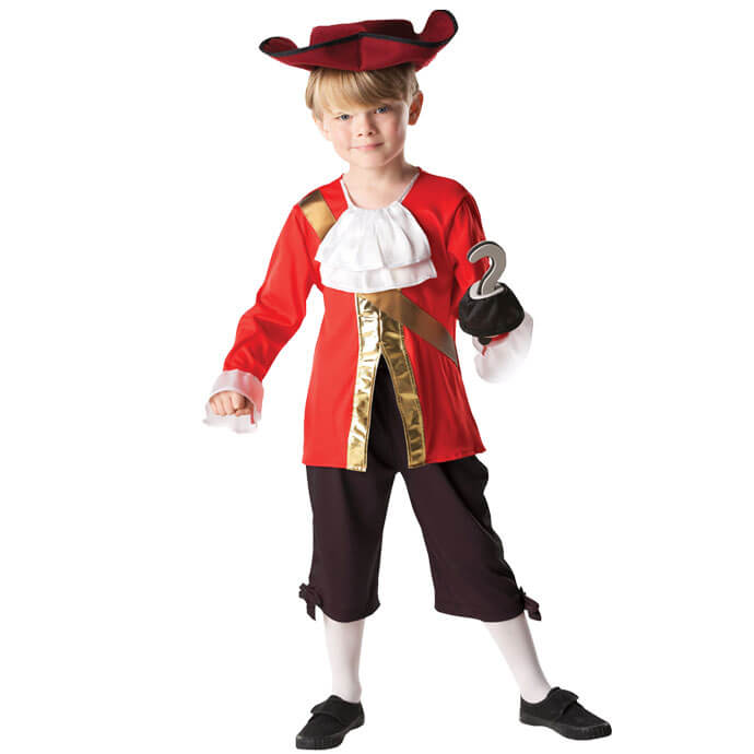 Captain Hook World Book Day fancy dress costume