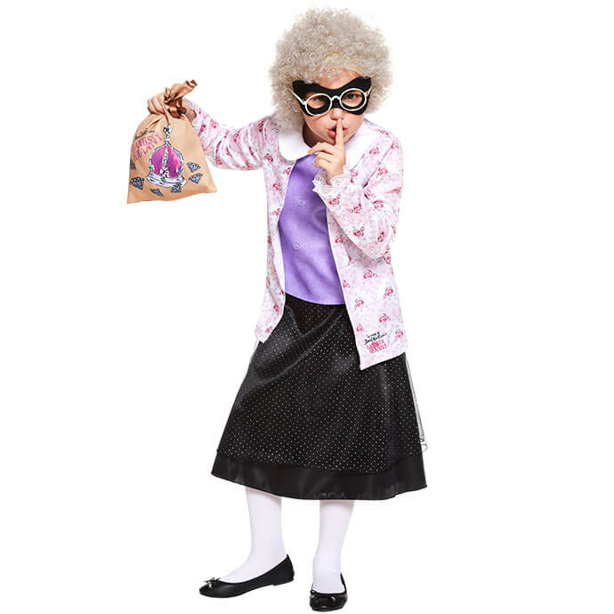 Gangsta Granny World Book Day fancy dress costume