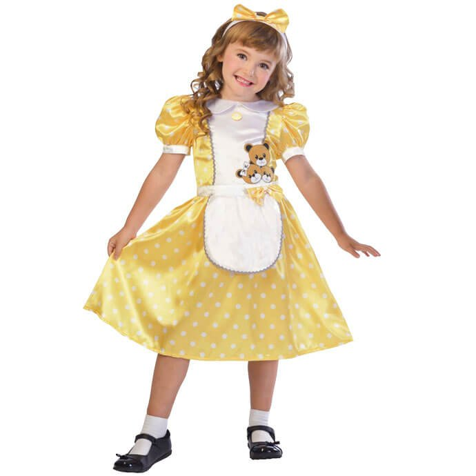 Goldilocks World Book Day fancy dress costume