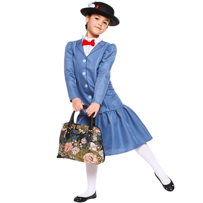 Mary Poppins World Book Day fancy dress costume