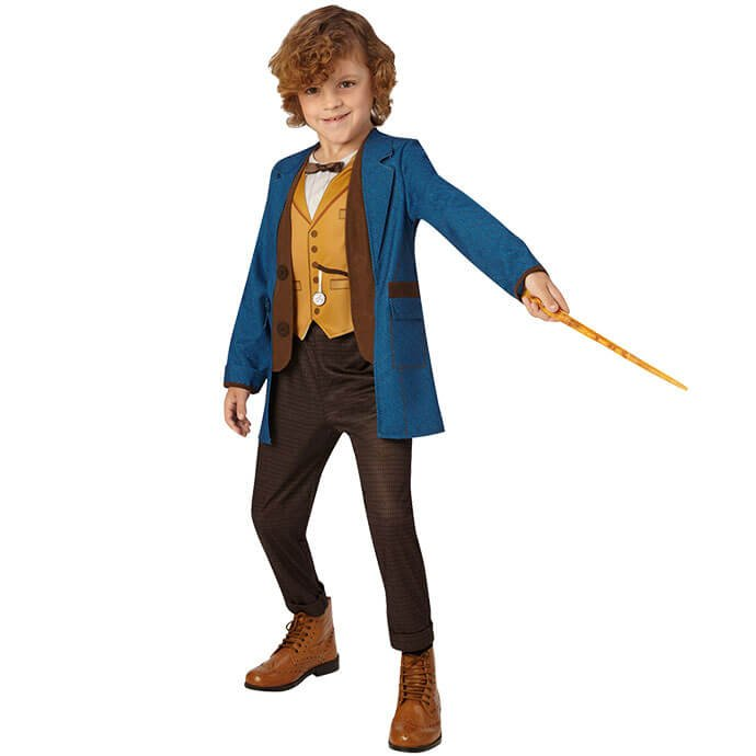 Newt Scamander fancy dress costume