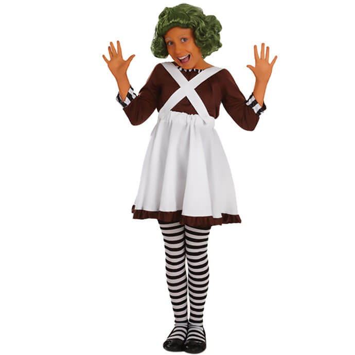 Oompa Loompa World Book Day fancy dress costume
