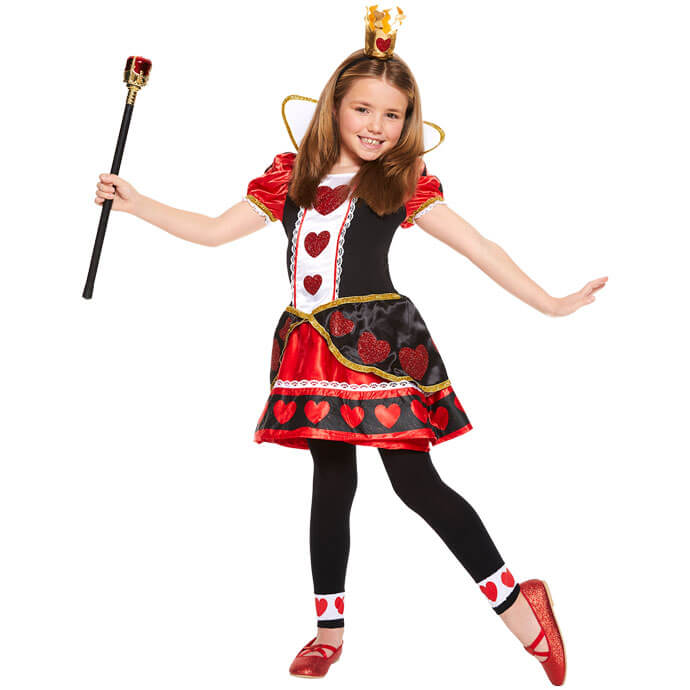 Queen of Hearts World Book Day fancy dress costume
