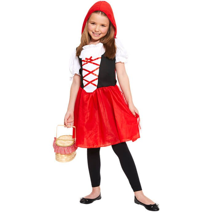 Red Riding Hood World Book Day fancy dress costume