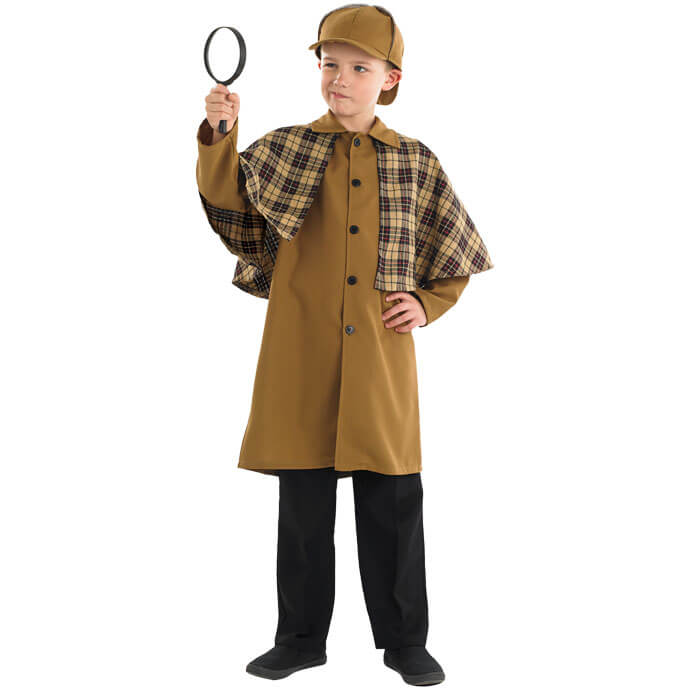 Sherlock Holmes World Book Day fancy dress costume