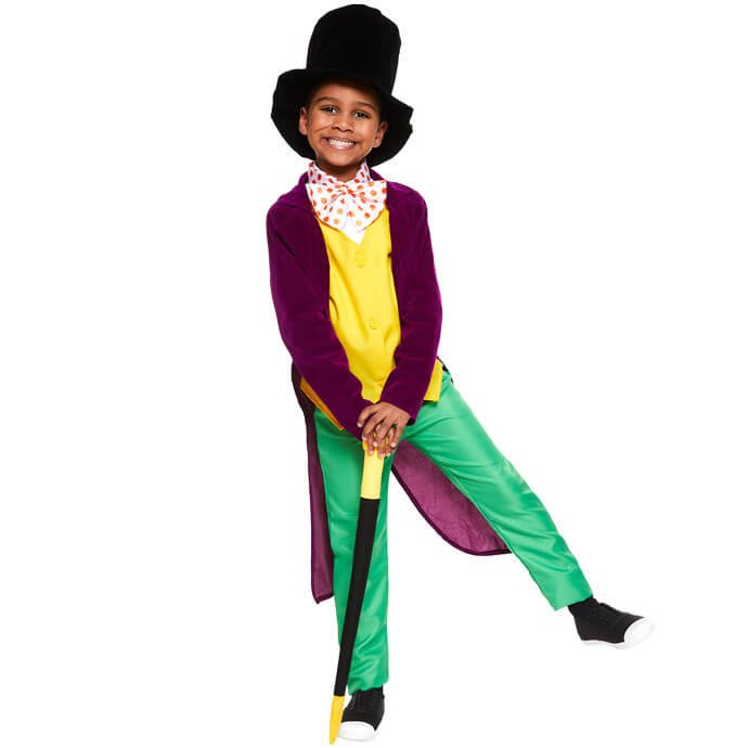 Willy Wonka World Book Day fancy dress costume
