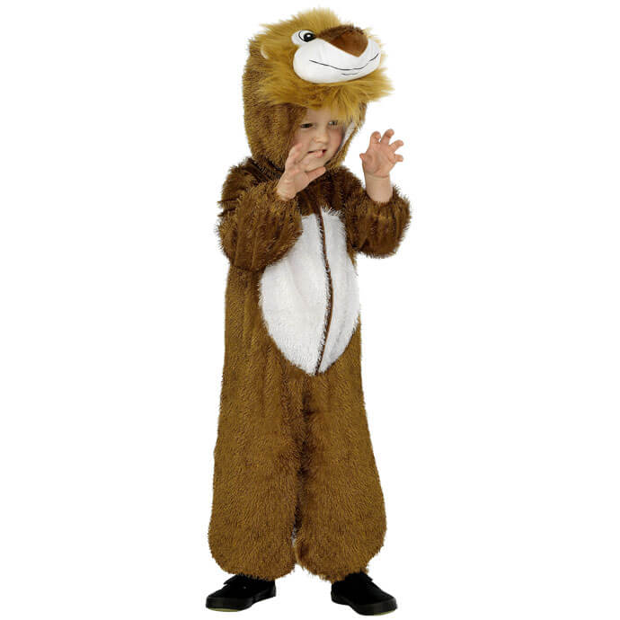 Wizard of Oz Cowardly Lion World Book Day fancy dress costume