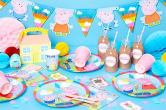 Everything you need for a Peppa Pig birthday party for kids