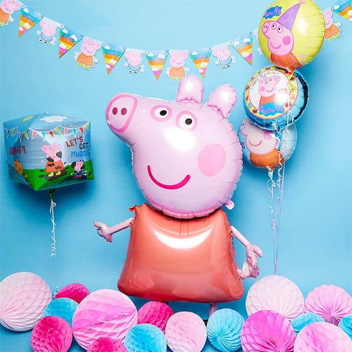 Giant Peppa Pig Party Balloon