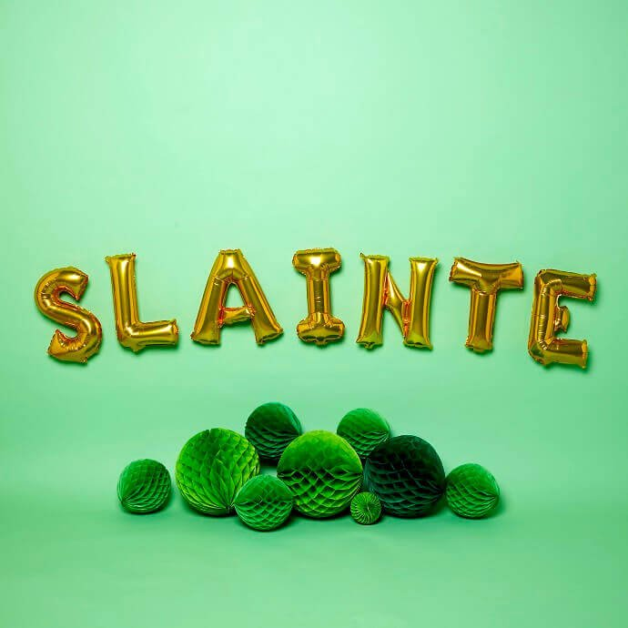 St Patrick's Day Slainte decoration