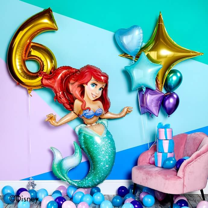 Life-size Ariel Little Mermaid balloon